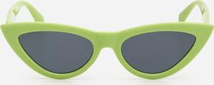 Zielone okulary damskie House