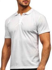 Koszulka polo Denley w stylu casual z krótkim rękawem