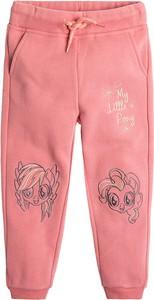 Różowe spodnie dziecięce Cool Club