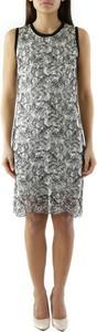 Sukienka Cristina Gavioli z okrągłym dekoltem bez rękawów