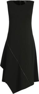 Sukienka DKNY bez rękawów z okrągłym dekoltem