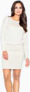 Sukienka Figl z długim rękawem ołówkowa mini