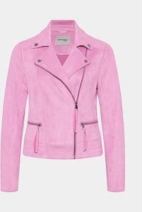 Różowa kurtka ORSAY z weluru