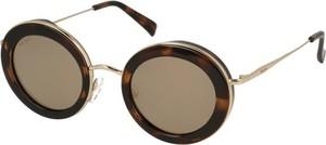 Brązowe okulary damskie Anne Marii