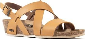 Brązowe sandały Sunbay