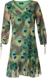 Sukienka Poza z długim rękawem w stylu casual
