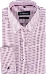 Różowa koszula giacomo conti