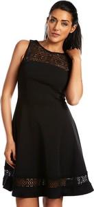 Sukienka Special Dresses z okrągłym dekoltem mini bez rękawów