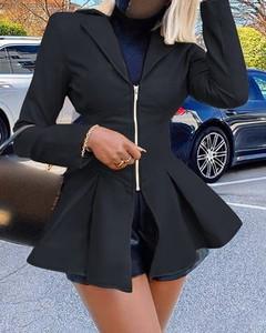 Płaszcz Kendallme ze skóry w stylu casual
