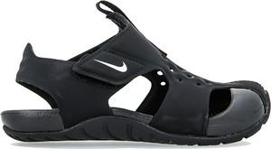 Granatowe buty dziecięce letnie Nike na rzepy
