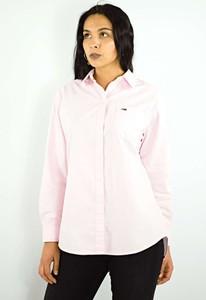 Różowa koszula Tommy Hilfiger z bawełny