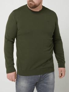 Sweter S.oliver Plus z bawełny