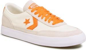 eobuwie.pl Tenisówki CONVERSE - Net Star Classic Ox 167624C Egret/Bold Mandarin/White