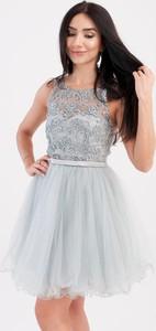 Sukienka Butik Ecru gorsetowa mini