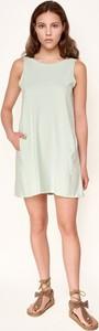 Miętowa sukienka Byinsomnia mini