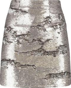 c4ca7801 srebrna spódnica - stylowo i modnie z Allani