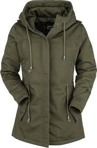Zielona kurtka Emp w stylu casual