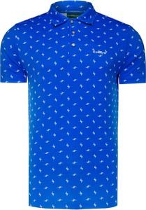 Koszulka polo Chervo w młodzieżowym stylu z tkaniny