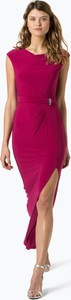 Różowa sukienka Lauren Ralph Lauren midi