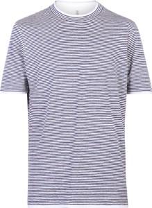T-shirt Brunello Cucinelli z krótkim rękawem
