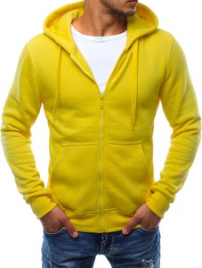 Żółta bluza Dstreet z dresówki
