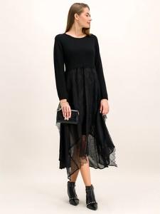 Czarna sukienka Twinset