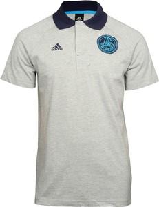 T-shirt Adidas Performance z bawełny w sportowym stylu z krótkim rękawem