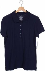 Niebieska koszulka dziecięca Time And Tru z krótkim rękawem