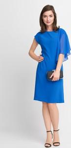 Sukienka QUIOSQUE z tiulu asymetryczna