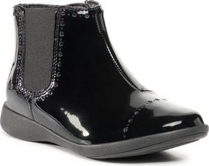 Czarne buty dziecięce zimowe Clarks