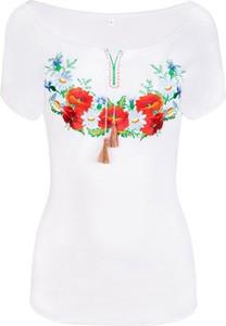 Jk collection damska bluzka z krótkim rękawem