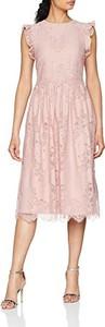 Sukienka Little Mistress bez rękawów z okrągłym dekoltem