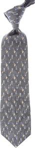 Krawat Balmain z jedwabiu