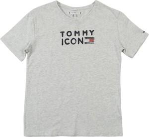 Bluzka dziecięca Tommy Hilfiger z bawełny z krótkim rękawem