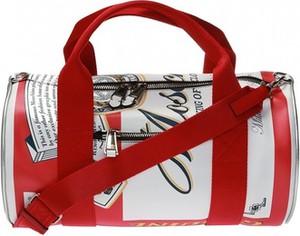 Czerwona torba podróżna Moschino