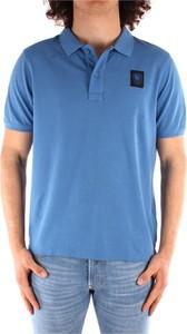 Koszulka polo Blauer Usa z bawełny z krótkim rękawem
