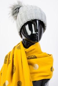 Żółty szalik Olika
