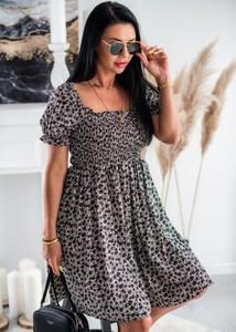 Sukienka Fason mini z bawełny