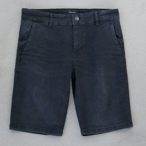 Czarne spodenki Reserved z jeansu