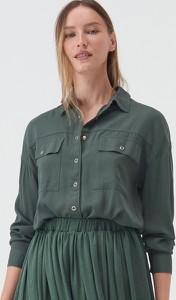 Zielona koszula Sinsay
