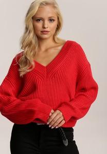 Czerwony sweter Renee