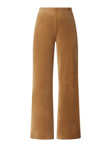 Brązowe spodnie Vero Moda w stylu retro