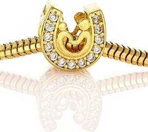 Miyou Charms do Pandora, Apart beads Podkowa Złoto 585