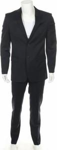 Czarny garnitur Izac