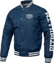 Granatowa kurtka Pit Bull West Coast w młodzieżowym stylu