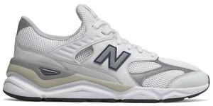 Buty sportowe New Balance sznurowane w młodzieżowym stylu ze skóry