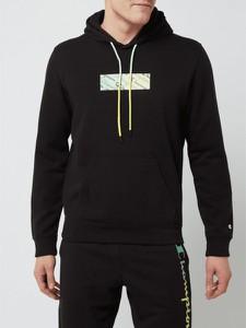 Czarna bluza Champion z bawełny w młodzieżowym stylu