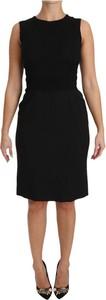 Sukienka Dolce & Gabbana mini bodycon bez rękawów