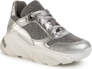 Srebrne buty sportowe Eva Longoria