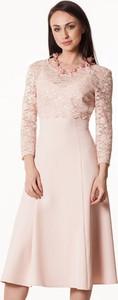 Semper sukienka pudrowy róż agia